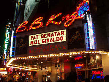 BB King Marquee